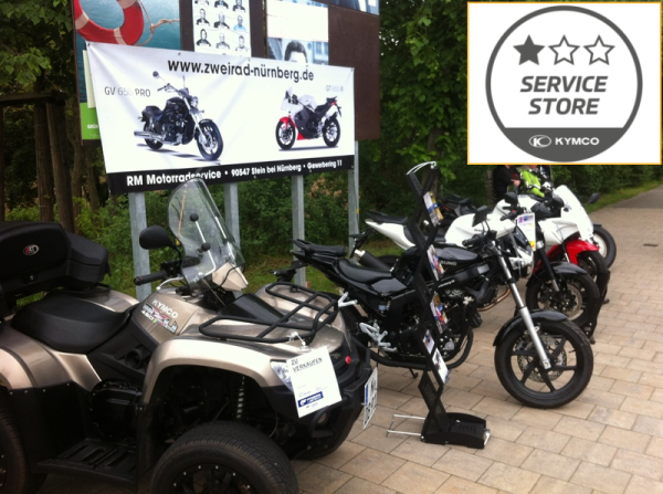 Wartung Motorrad, RM Abgasuntersuchung, Reifenservice Nürnberg